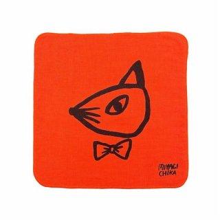 山鳩舎 / hand towel / Fox / OR