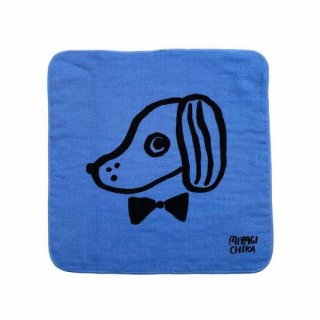 山鳩舎 / hand towel / Dog / BL