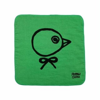 山鳩舎 / hand towel / Bird / GR