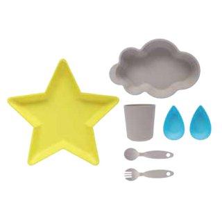 Nature tableware set / Gray