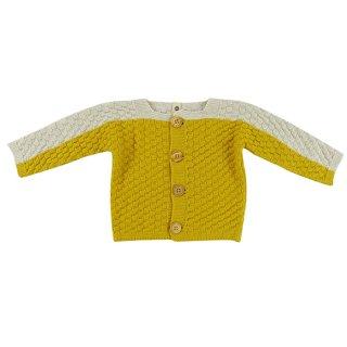BaYiRi / Squared Stitch - Bat Cardigan / FROG GOLD