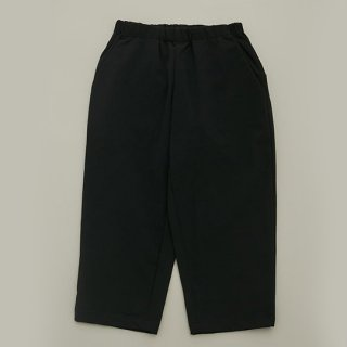 MOUN TEN. / double cloth stretch pants / black