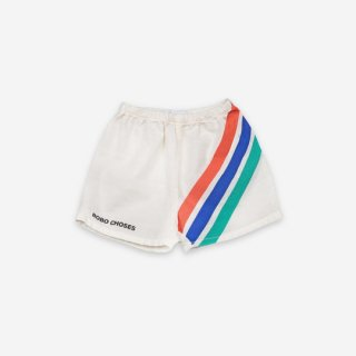 【ご予約商品】BOBO CHOSES / Crosswise Stripes Woven Shorts / BABY