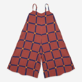 【ご予約商品】BOBO CHOSES / Cube All Over Woven Overall / KID