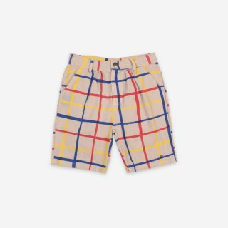 【ご予約商品】BOBO CHOSES / Multicolor Checkered Bermuda / KID