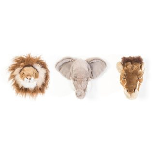WILD&SOFT / Small Animal Heads / SAFARI BOX