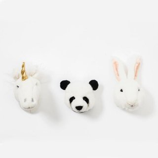 WILD&SOFT / Small Animal Heads / LOVELY BOX
