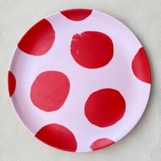 Goma / Bamboo Plate L / D. Circle