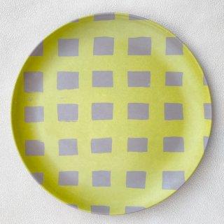 Goma / Bamboo Plate L / B. Bold check