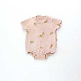 TINYCOTTONS / TWIGS BALLOON BODY / dusty pink/green