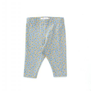 TINYCOTTONS / SMALL FLOWERS BABY PANT / summer grey/honey