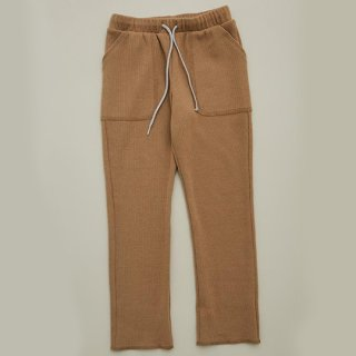 MOUN TEN. / stretch thermal pants / beige