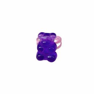 Milk x Soda / Gummy Ring / Purple