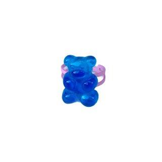 Milk x Soda / Gummy Ring / Blue