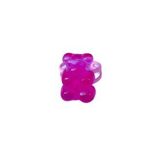 Milk x Soda / Gummy Ring / Pink