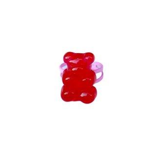 Milk x Soda / Gummy Ring / Red