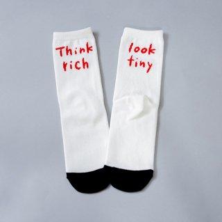 michirico / Think socks / White