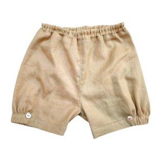 【40%OFF!】mimi poupons / パフボトム / コットンリネン Light Brown