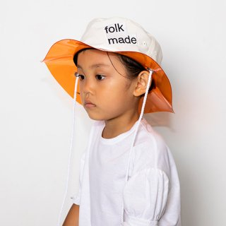 【30%OFF!】folk made / lalique hat / white