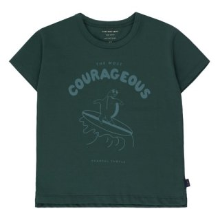 TINYCOTTONS / COURAGEOUS TEE / ink blue/dark teal