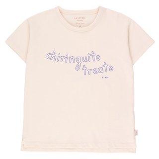 TINYCOTTONS / CHIRINGUITO TREATS TEE / light cream/iris blue