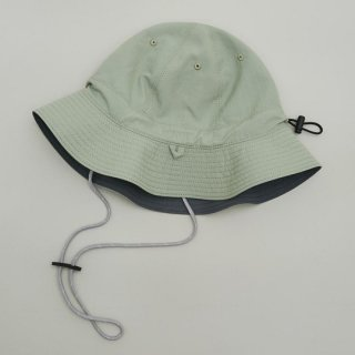 MOUN TEN. / reversible adventure hat / charcoal x khaki