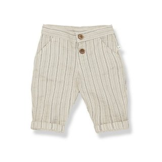 【40%OFF!】1+ in the family / ISAAC long pants / 103. beige