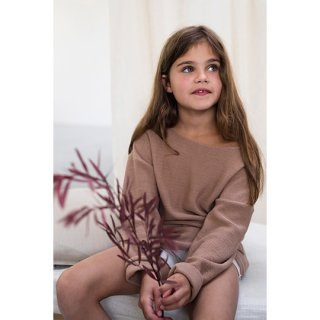 Phil&Phae / Drop-shoulder knit sweater / Dusty nude
