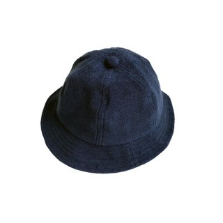 chocolatesoup / SOFT PILE HAT / NAVY