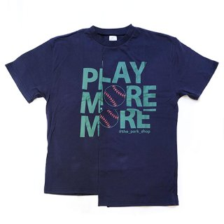 【40%OFF!】THE PARK SHOP / play more tee / navy / ADULT
