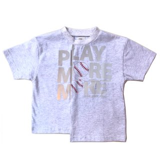 THE PARK SHOP / play more tee / white / KIDS