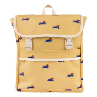 TINYCOTTONS / DOGGY PADDLE BACKPACK / sand/iris blue