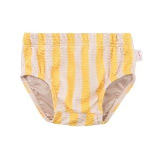 【30%OFF!】TINYCOTTONS / BIG STRIPES BLOOMER / yellow/light cream / swimwear
