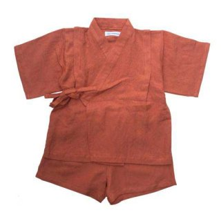 chocolatesoup / LINEN JINBEI SEPARATE / TERRA COTTA