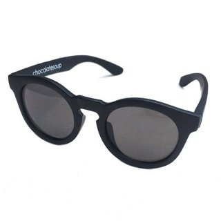 chocolatesoup / ROUND SUNGLASSES / BK