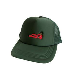 Soulsmania / CHILL OUT MAN MESH CAP / GREEN