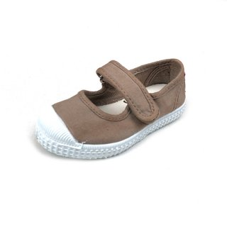 CIENTA / beige / dyed / Velcro One strap shoes