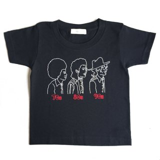 Soulsmania / EMBROIDERED T-SHIRTS / 70s80s90s / BK
