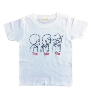 Soulsmania / EMBROIDERED T-SHIRTS / 70s80s90s / WH