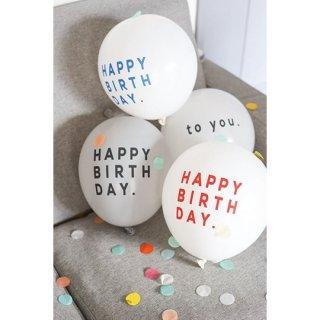 Balloon / HAPPY BIRTH DAY / RED / 5pcs