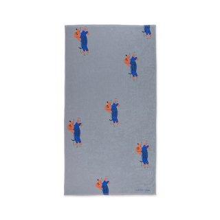 【再入荷】TINYCOTTONS / OGGY PADDLE TOWEL / summer grey/iris blue