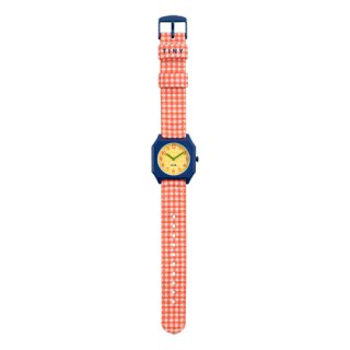 TINYCOTTONS x MINI KYOMO / VICHY RED WATCH / red