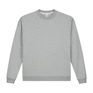 GRAY LABEL / Adult Dropped Shoulder Sweater / Grey Melange