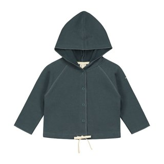 GRAY LABEL / Baby Hooded Cardigan / Blue Grey / Baby