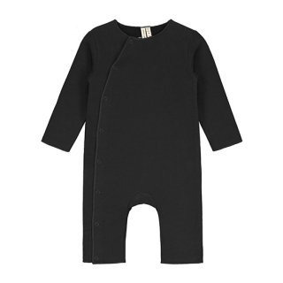 GRAY LABEL / Baby Suit with Snaps / Nearly Black / Baby