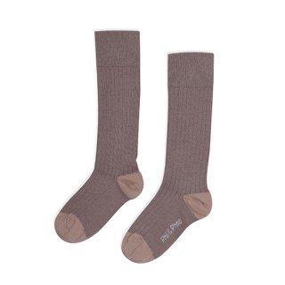 Phil&Phae / Ribbed knee socks / Heather