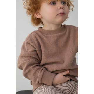 Phil&Phae / Oversized teddy sweater / creamy mocha