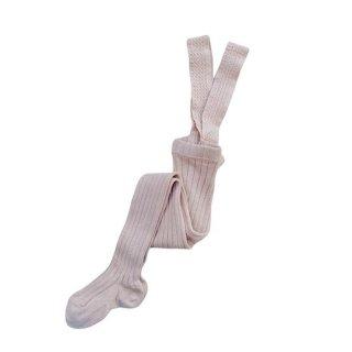 【新入荷】condor / Rib Tights with Suspenders / 544 / Old Rose
