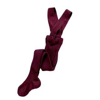 【新入荷】condor / Rib Tights with Suspenders / 385 / Caldera