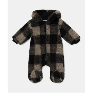 My Little Cozmo / baby bear suit bunting plaid / multi / BABY